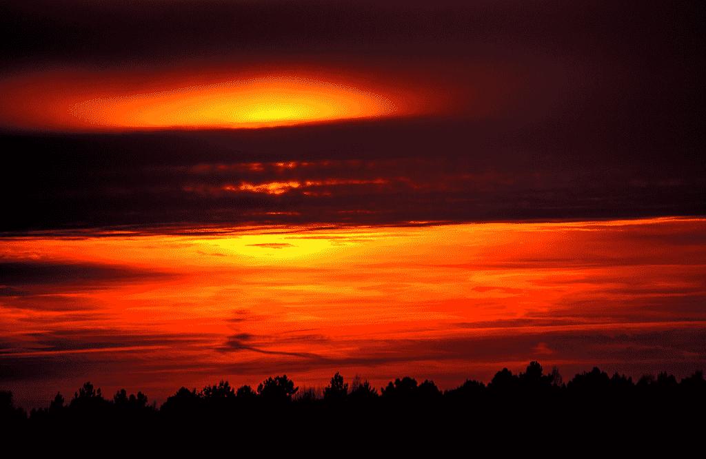 Sonnenuntergang - Brieskow Finkenheerd