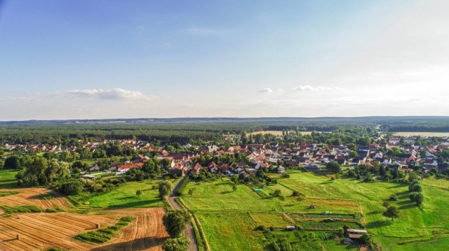 Dorfeingang - Wiesenau
